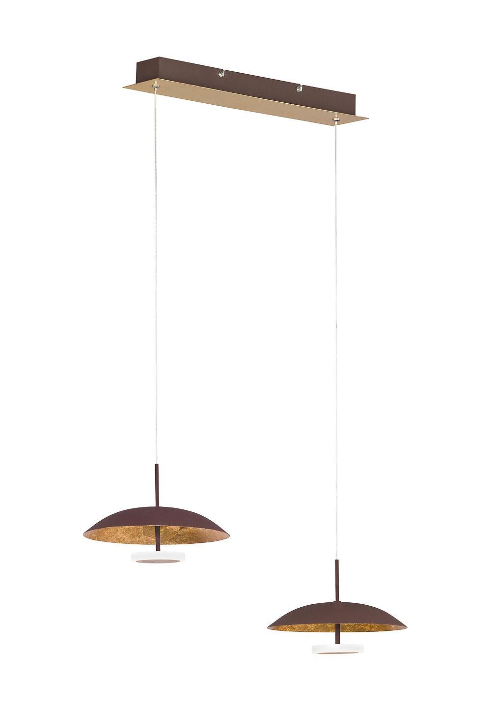 Wofi LED-Pendelleuchte Pierre, B61 x H150 x T21,5 cm