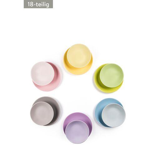 Color Addicted Teller-Set, 18-teilig