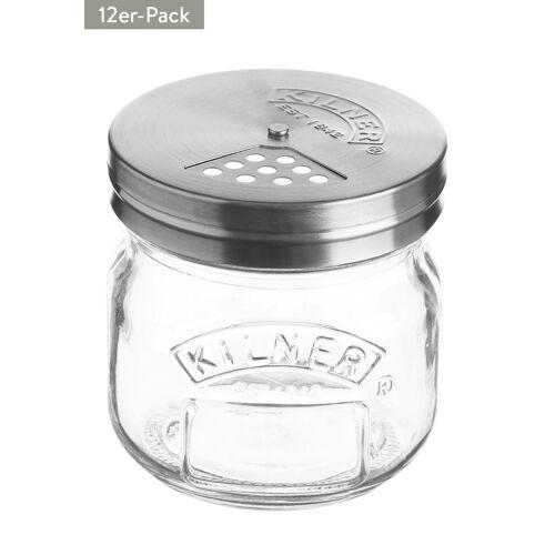 Kilner Vorratsglas, 12er-Pack, 250 ml