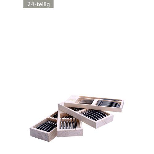 Laguiole Besteck-Set, 24-teilig, B30 x H14 x T11,5 cm