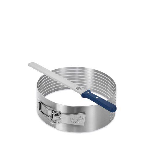 DR. Oetker Tortenboden-Schneidhilfe mit Tortenmesser