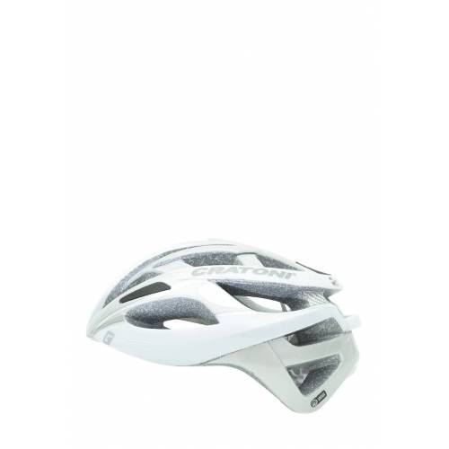 Cratoni Fahrradhelm C-Breeze, weiß/silbern