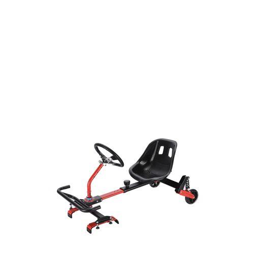 E-Zigo Hoverboards Seat, schwarz/rot