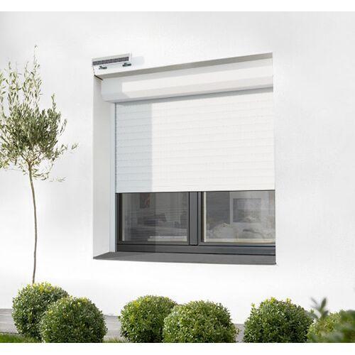 AVOSDIM Vorbaurollladen mit Solar-Antrieb und Kasten nach Maß Alu oder PVC