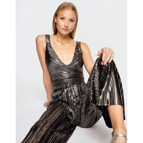 TW Silberner Jumpsuit Gold female S