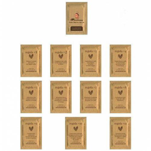 Passalacqua - NEU PASSALACQUA Zucker braun - 200 Zuckertütchen im Karton