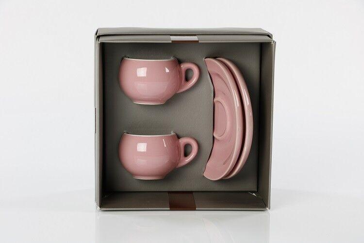 Danesi Espressotassenset Duo PINK - 2 Tassen im Geschenkkarton
