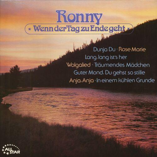 Ronny - Wenn der Tag zu Ende geht (LP)