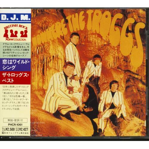 The Troggs - From Nowhere The Troggs (CD, Japan)