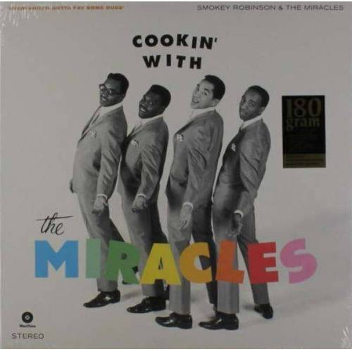 The Miracles - Cookin' With The Miracles (LP, 180g Vinyl, Ltd.)