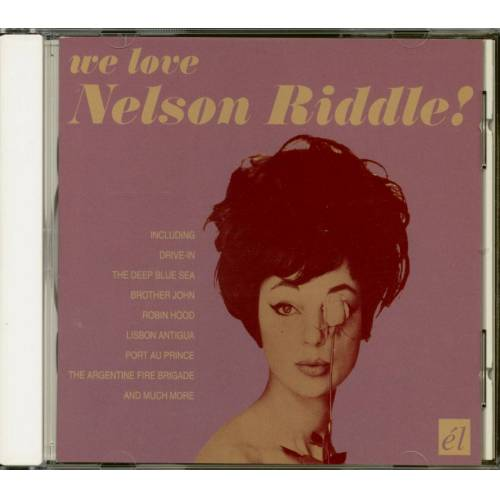 Nelson Riddle - We Love Nelson Riddle (CD)