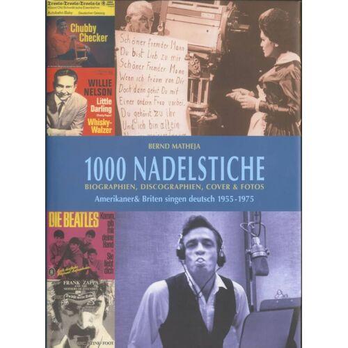 1000 Nadelstiche - 1000 Nadelstiche - Amerikaner & Briten singen deutsch (Buch)