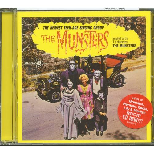 The Munsters - The Munsters - Inspired By The T.V. Characters 'The Munsters' (CD)