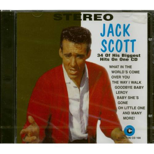 Jack Scott - 34 Of His Biggest Hits On One (CD)