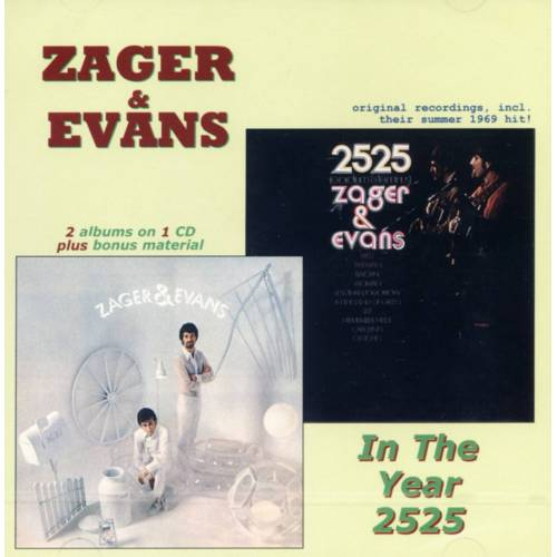 ZAGER & EVANS - In The Year 2525 (CD)