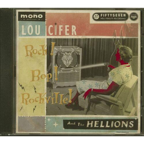 Lou Cifer & The Hellions - Rock! Bop! Rockville! (CD)