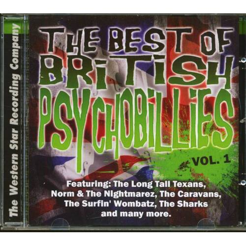 Various - The Best Of British Psychobilly Vol.1 (CD)