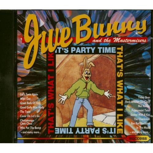 Jive Bunny & The Mastermixers - That's What I Like - It's Party Time (CD)