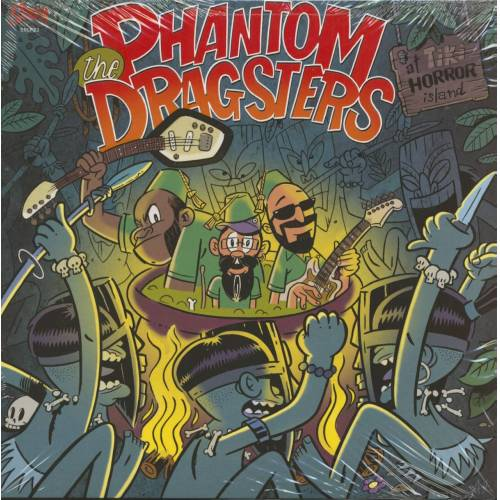 The Phantom Dragsters - The Phantom Dragsters At Tiki Horror Island (LP)