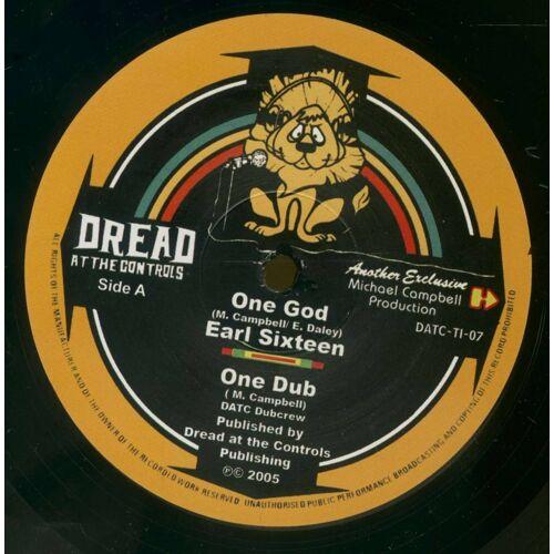 Earl Sixteen - DATC Dubcrew - One God - African Tribesmen / Earl Sixteen & DATC Dubcrew (10inch, 45rpm)