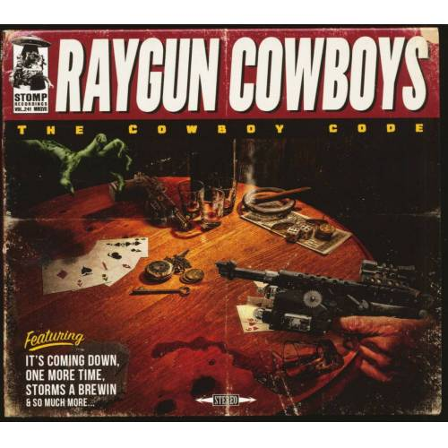 Raygun Cowboys - The Cowboy Code (CD)