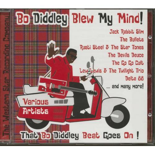 Various - Bo Diddley Blew My Mind - That Bo Diddley Beat Goes On (CD)