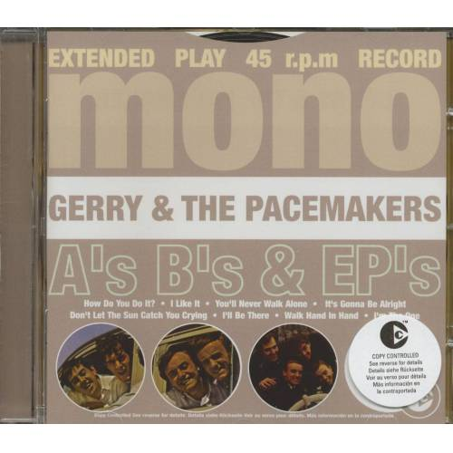 Gerry & The Pacemakers - A's B's & Ep's
