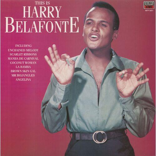 Harry Belafonte - This Is Harry Belafonte (LP)