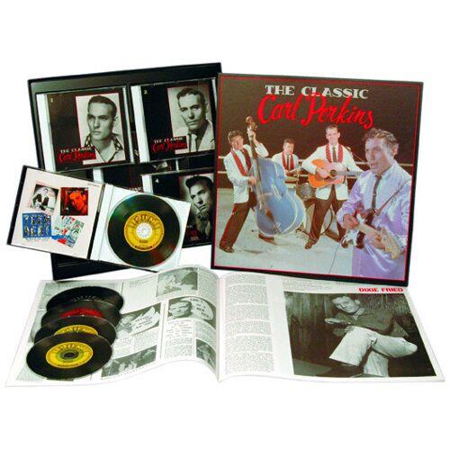 Carl Perkins - The Classic Carl Perkins (5-CD Deluxe Box Set)