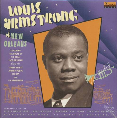 Louis Armstrong - Louis Armstrong Of New Orleans (LP)