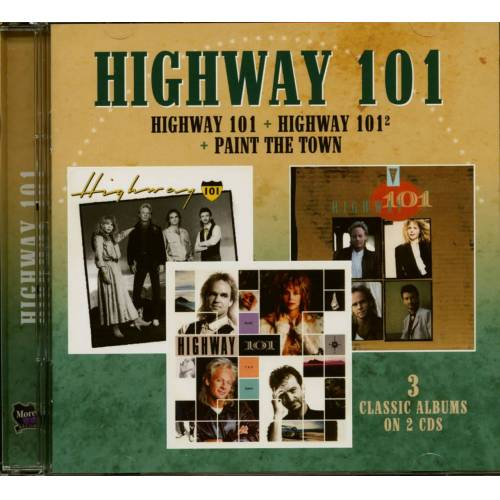 HIGHWAY 101 - Highway 101 - Highway 101² - Paint The Town (2-CD)