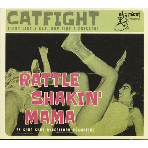 Various - Catfight - Rattle Shakin' Mama (CD)