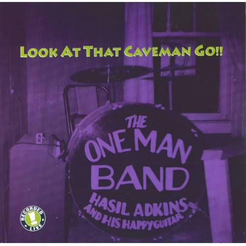 Hasil Adkins - Look At That Caveman Go!! (LP)