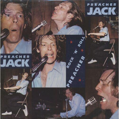 PREACHER JACK - Rock 'N' Roll Preacher (LP, Cut-Out)