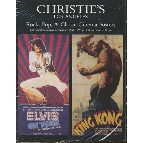 Rock, Pop & Classic Posters - Rock, Pop & Classic Posters - Christie's Los Angeles - Auction Cataloge