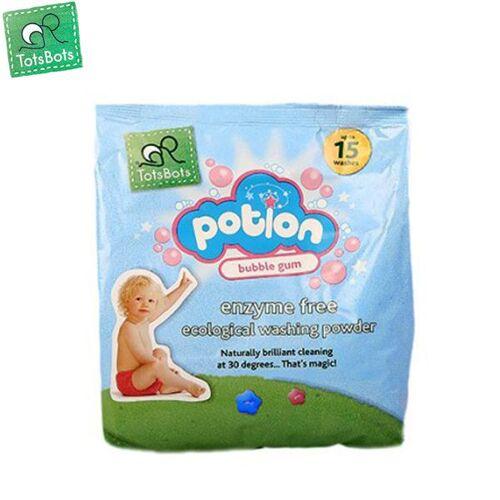 TotsBots - Potion - ökologisches Waschpulver - 750g - Bubblegum (Kaugummi)