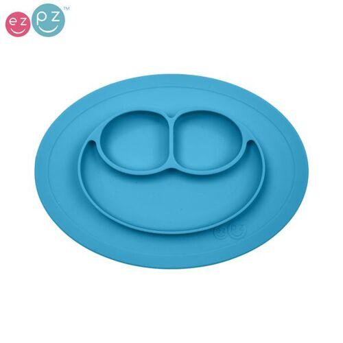 """EZPZ - """"Mini Mat"""" - 100% Silikon (Rutschfeste Essmatte) - Blau"""