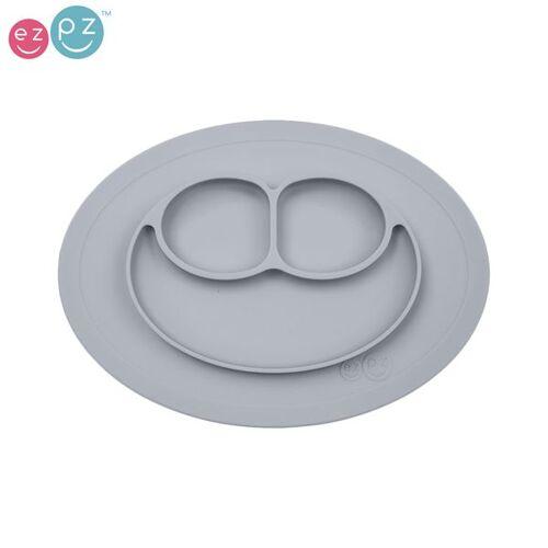 "EZPZ - ""Mini Mat"" - 100% Silikon (Rutschfeste Essmatte) - Silber"