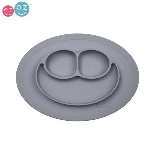 """EZPZ - """"Mini Mat"""" - 100% Silikon (Rutschfeste Essmatte) - Grau"""