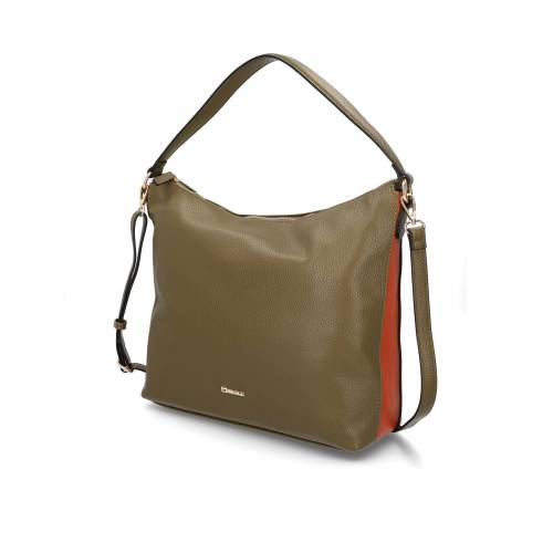 Minozzi Hobo Bag grün
