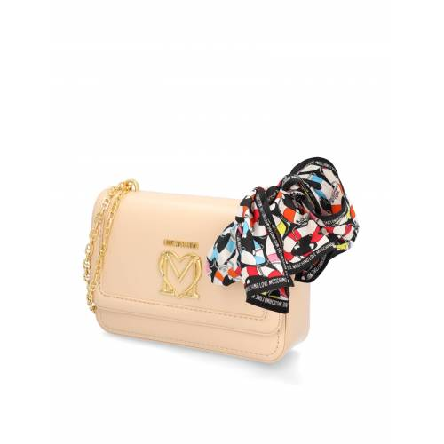 LOVE MOSCHINO NEW LOVE MOSCHINO SCARF beige