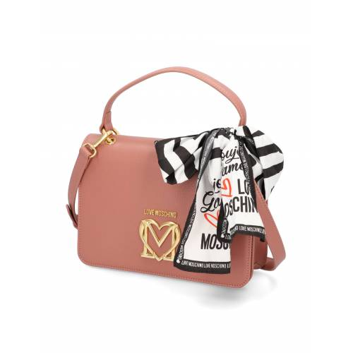 LOVE MOSCHINO LOVE MOSCHINO SCARF BAG pink