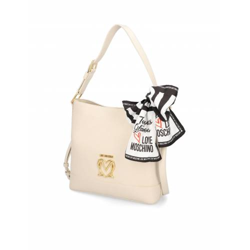 LOVE MOSCHINO LOVE MOSCHINO SCARF BAG weiss
