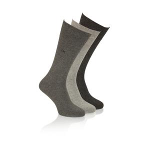 Calvin Klein Socken 3P grau