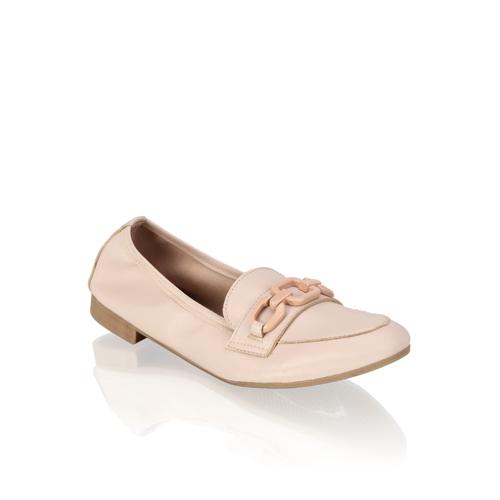 Minozzi Glattleder Klassischer Slipper 36.0, 38.0 pink