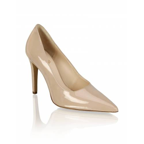 Högl Lackleder Pumps beige