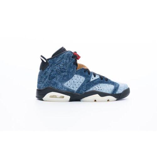 Jordan Air Jordan 6 Retro - Grundschule Schuhe Blue 40