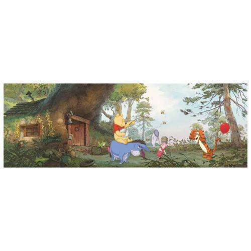 Bilderwelten DE Winnie Pooh Tapete - Pooh's Haus - Komar Fototapete