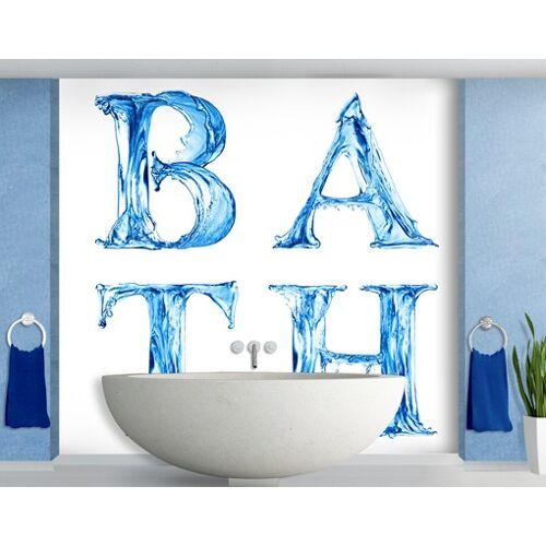 Bilderwelten DE Selbstklebende Tapete - Fototapete Bath II