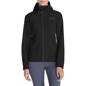Eddie Bauer ® Sandstone Shield Jacke mit Kapuze Damen Schwarz Gr. XL